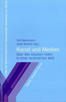 """Buchumschlag """"Konzil und Medien"""""""