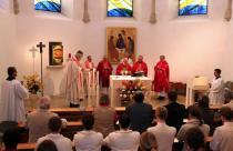 Gottesdienst zur Eröffnung des Studienjahres mit Diözesanbischof DDr. Klaus Küng und Regens Weihbischof Dr. Anton Leichtfried