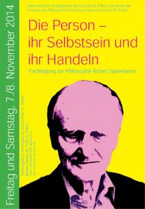 Plakat Spaemann-Tagung