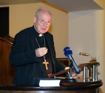 Erzbischof Dr. Christoph Kardinal Schönborn OP an der Philosophisch-Theologischen Hochschule St. Pölten