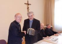 Verabschiedung des Bischofs
